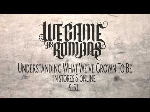 Understanding What We've Grown to Be (Lyric Video)