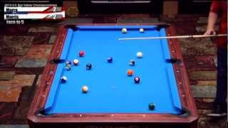 2012 CSI U.S. Bar Table Championships 8 Ball Division: Morris Vs Morra