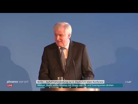 Rede von Bundesinnenminister Horst Seehofer bei der vie ...