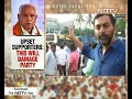 Yeddyurappa Jr Not To Contest Election, BJP Workers Erupt In Protest - Video
