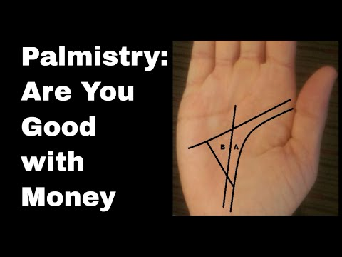 MONEY LINE AND SIGN ON HAND PALMISTRY