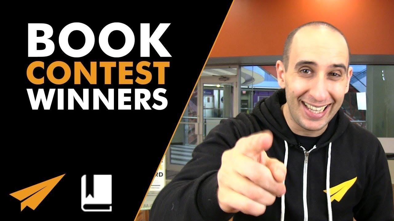 Book Contest WINNERS - #EvansBook ep. 82