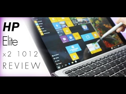 HP Elite x2 1012 G1 Review and Keyboard Comparison