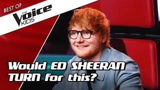 Video TOP 10 | BEST ED SHEERAN Blind Auditions in The Voice Kids MP3, 3GP, MP4, WEBM, AVI, FLV Juli 2019