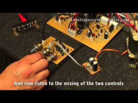 preamplificador - Presentamos la prueba de sonido del preamplificador con control de tonos. Este preamplificador tiene control de volumen, control de bajos y control de altos....