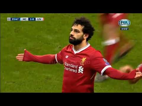 Manchester City Vs Liverpool 1 2 2018 Resumen Goles Highlights Goals UCL 2018