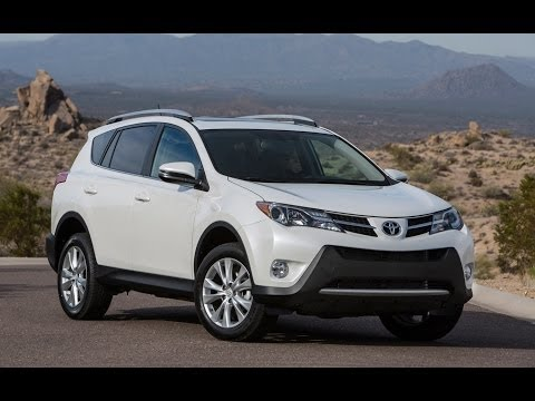 2014 Toyota RAV4 XLE AWD Start Up and Review 2.5 L 4-Cylinder