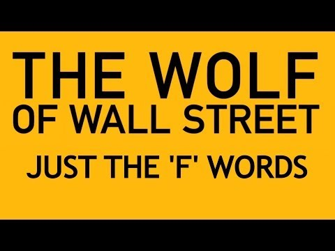 Street - Become a Screen Junkie! ▻ http://bit.ly/sjsubscr Watch Honest Trailers ▻ http://bit.ly/HonestTrailerPlaylist Everybody knows 'The Wolf of Wall Street' is packed with 'f' words - but...