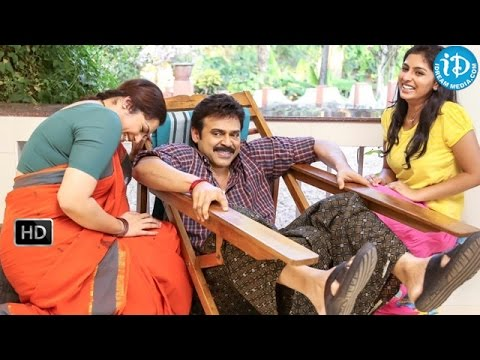 Drishyam Movie Making Videos at Shooting Spot - Venkatesh, Meena