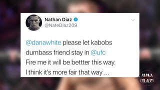 Video MMA Pros React to Khabib Nurmagomedov threatening to quit UFC if they fire Zubaira Tukhugov MP3, 3GP, MP4, WEBM, AVI, FLV April 2019