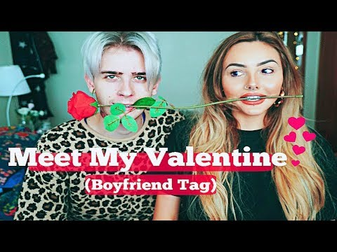 Meet My Valentine (The Boyfriend Tag) | Sarah Goodhart