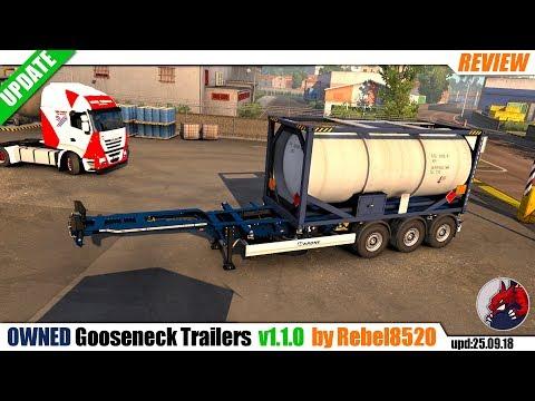 Gooseneck Trailers v1.1.0 1.32