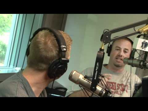 Comedian Paul Hooper In The Studio