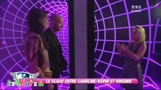 Video Le clash entre Caroline/Kévin et Virginie MP3, 3GP, MP4, WEBM, AVI, FLV Juni 2017