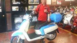 1. 2013 KYMCO Like 50 and Like 200i Scooter Review