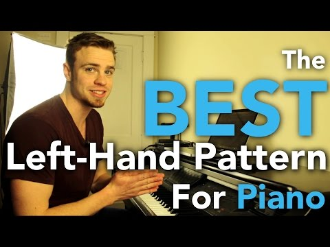 The Best Left Hand Pattern for Piano