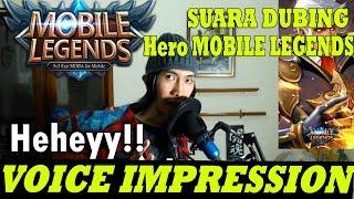 Video VOICE IMPRESSION OF HEROES Mobile Legends: Bang Bang MP3, 3GP, MP4, WEBM, AVI, FLV November 2018