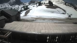 Timelapse Webcam Villard de lans - 21/04/2015 - Cote 2000 haut