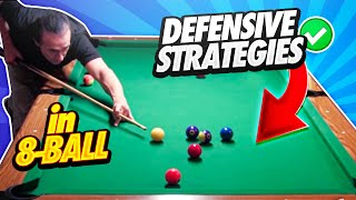 8-Ball:  Learn Defensive Strategies In 8-Ball That Will Absolutely Help You WIN!