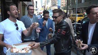 Barstool Pizza Review- Don Antonio w/ Jon Hamm,Ed Helms,Jeremy Renner,Jake Johnson & Hannibal Buress
