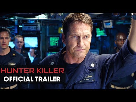 Hunter Killer (2018 Movie) Official Trailer – Gerard Butler, Gary Oldman, Common