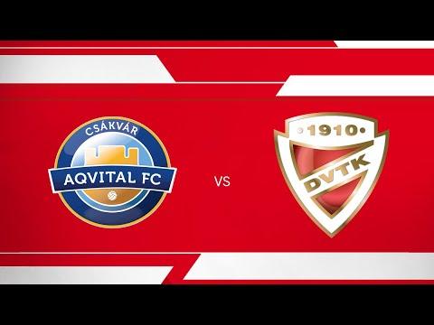 1. forduló: Csákvár - DVTK 0-1 (0-1)