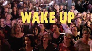 Choir! sings Arcade Fire - Wake Up
