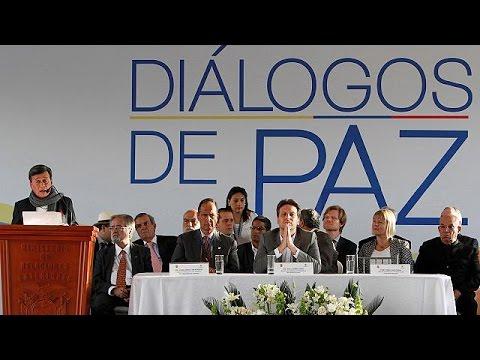 Συνεχίζεται η ειρηνευτική διαδικασία μεταξύ κυβέρνησης και ανταρτών στην Κολομβία