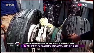 Video Detik-detik Pengangkatan Roda Lion Air JT 610 oleh Tim Penyelam TNI AL - iNews Sore 02/11 MP3, 3GP, MP4, WEBM, AVI, FLV November 2018