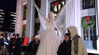Stilt Walking Snow Princess / Snow Angel