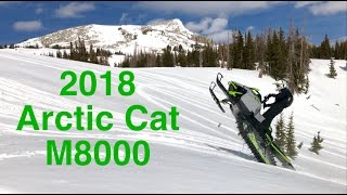 9. Riding the 2018 Arctic Cat M8000