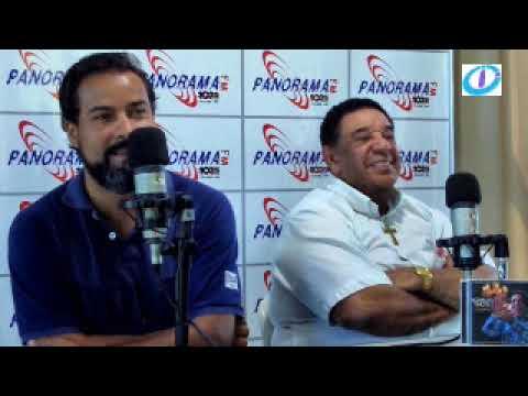 Entrevista na Panorama FM com Aguinaldo Timóteo