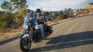 8. 2015 Kawasaki Vulcan 1700 Nomad ABS Review
