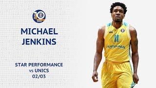 Star performance — Michael Jenkins vs UNICS