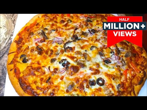 How to make Chicken Pizza | Pizza Recipe | non veg Pizza in Easy Steps