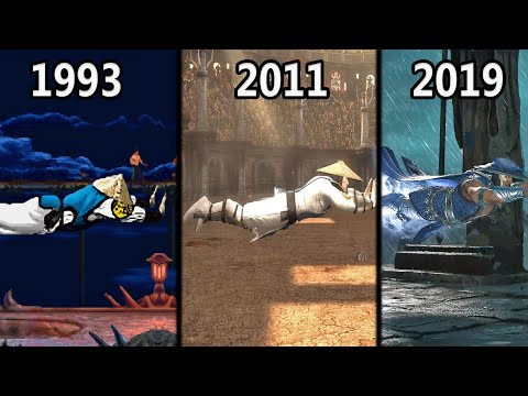 Evolution of Raiden's Electric Fly (1992-2019)