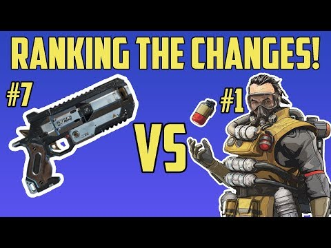 What The New Apex Legends Update Means For You - Ranking The Patch Changes From Best To Worst Impact