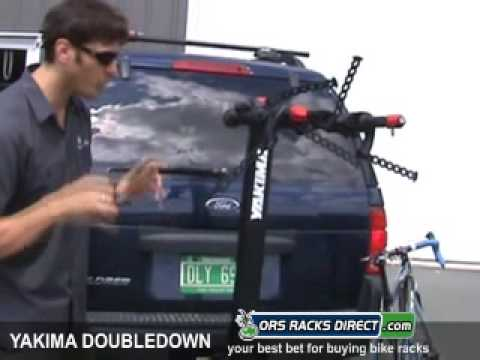 Yakima DoubleDown Hitch Bike Racks Review Video & Demonstration