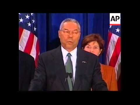 USA: COLIN POWELL NAMED SECRETARY OF STATE