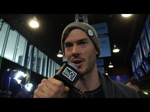 Video: Brad Evans' journalistic debut, Feilhaber's funky prediction