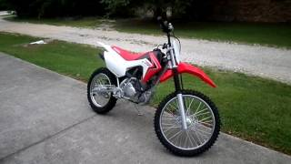 3. 2017 - Honda CRF®125FB (Big Wheel)