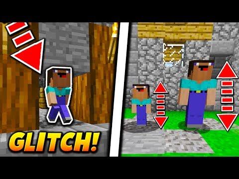 MINI PLAYER MOD GLITCH! - Minecraft SKYWARS TROLLING (BANNABLE MOD?) (видео)