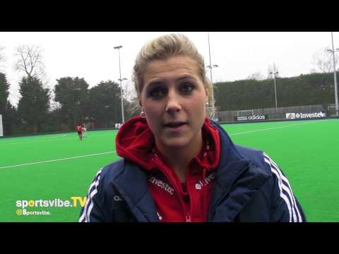 Team GB Hockey Star Georgie Twigg Speaks To Sportsvibe TV 