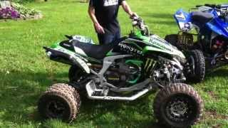 5. KAWASAKI KFX450R AND SUZUKI LTR450 WALKAROUND