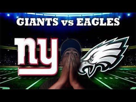 New York Giants- NY Giants vs  Eagles reaction video