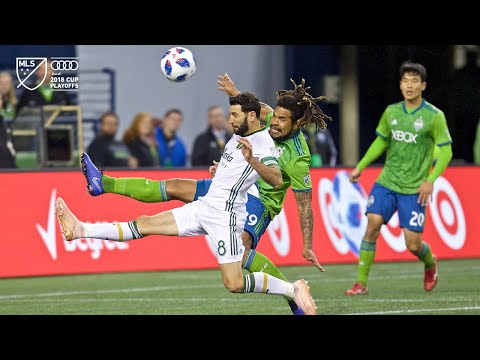 Video: Diego Valeri | Sounders vs. Timbers | Audi 2018 MLS Cup Playoffs | Nov. 8, 2018