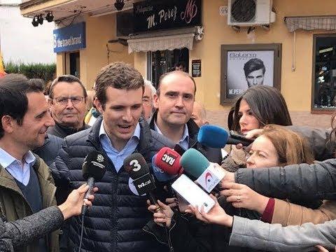 """Casado: """"El PP es la casa de todos los catalanes y..."""
