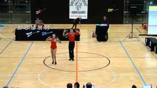 Bianca Brödner & Nick Codagnone - Donaupokal 2014