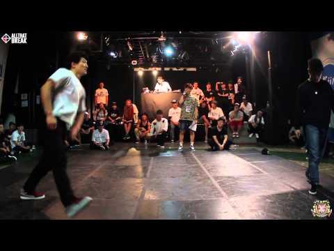 Korea - 2014.08.24(SUN) UK B-BOY CHAMPIONSHIP 2014 KOREA Elimination @ YE-HALL, Apgujeong, Seoul [DJ] FUNKY MAN [MC] DU LOCK (Funky Street Princez) [JUDGES] - Hiphop - J-BLACK (Cube Sound / Cross...