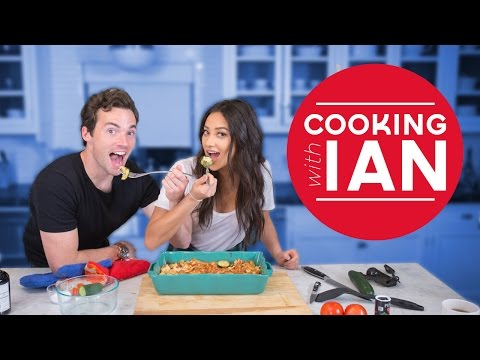 Cooking with Ian Harding | Shay's Kitchen